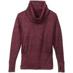 Athleta Batwing and Robin Cowl Neck Pullover